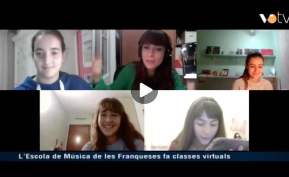VOTV es fa ressò de l'aula virtual de l'Escola